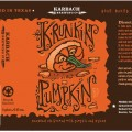 Cask Tapping of Karbach Brewing Company Krunkin' Pumpkin